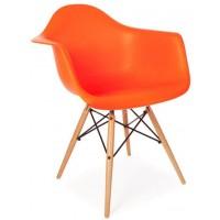Кресло Tower wood arm orange (Тауэр вуд оранжевый)
