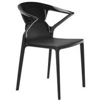 Барный стул пластиковый Ego-K black black