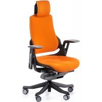 Офисное кресло для руководителя WAU mandarin fabric (оранжевое)
