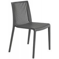 Барный стул пластиковый Cool antrasit (серый)