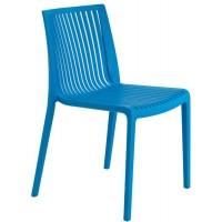 Барный стул пластиковый Cool blue (голубой)