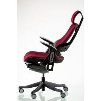 Офисное кресло для руководителя WAU burgundy fabric (бордовое)