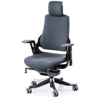 Офисное кресло для руководителя WAU slategrey fabric (серое)