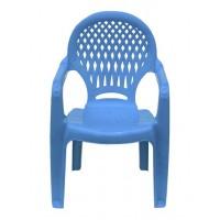 Детский пластиковый стул Ромб СТ030В голубой
