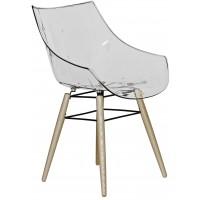 Барное кресло People Wood transparente