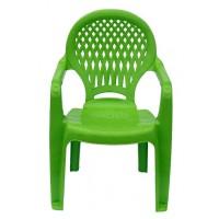 Детский пластиковый стул Ромб СТ030В салатовый