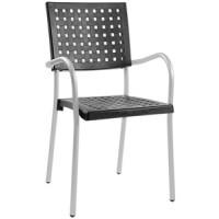 Барный стул пластиковый Karea black