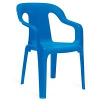Детский пластиковый стул Mini armchair blue (Мини синий)