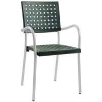 Барный стул пластиковый Karea green
