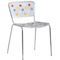 Барный стул Mosaico multicolor (Мозаика разноцветный)