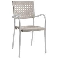 Барный стул пластиковый Karea ivory
