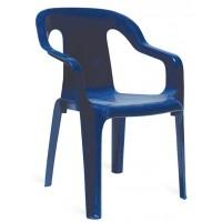 Детский пластиковый стул Mini armchair marine (Мини темно синий)