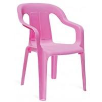 Пластиковый детский стул Mini armchair pink (Мини розовый)