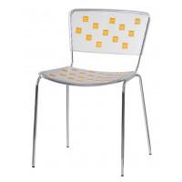 Барный стул Mosaico orange (Мозаика оранжевый)