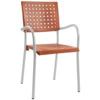 Барный стул пластиковый Karea orange