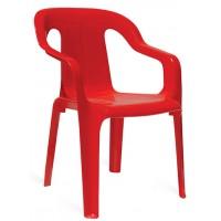 Cтул пластиковый детский Mini armchair red (Мини красный)