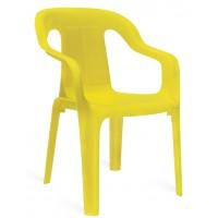 Детский стул дачный Mini armchair yellow (Мини желтый)