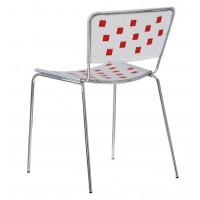 Барный стул Mosaico rosso (Мозаика красный)
