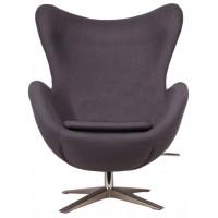 Барное кресло Egg wool gray (Эгг серое)