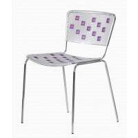 Барный стул Mosaico violet (Мозаика фиолетовый)