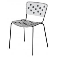 Барный стул Mosaico black (Мозаика черный)