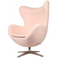 Барное кресло Egg wool creme (Эгг кремовое)