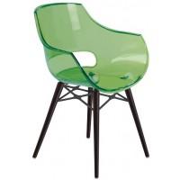 Cтул пластиковый Opal Wox W green