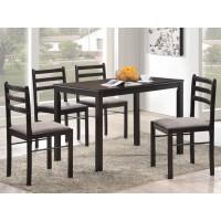 Комплект обеденной мебели Фиеста венге стол и 4 стула