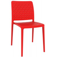 Стул пластиковый Fame-S red (красный)