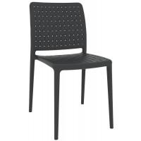 Барный стул пластиковый Fame-S anthracite (антрацит)
