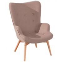 Кресло для дома Флорино светло-коричневое