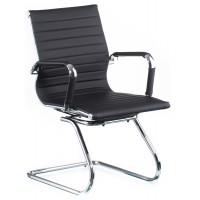 Офисное кресло конференционное Solano office artleather black (Солано черное)