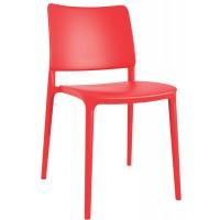 Стул пластиковый Joy-S red (красный)
