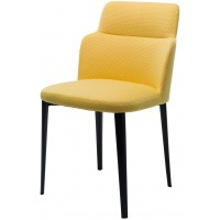 Дизайнерский мягкий стул Butterfly yellow (Батерфляй желтый)