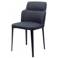 Дизайнерский мягкий стул Butterfly graphite gray (Батерфляй серый графит)