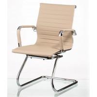 Офисное кресло конференционное Solano artleather conference beige (Солано бежевое)