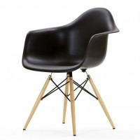 Кресло Tower wood arm black (Тауэр вуд черный)