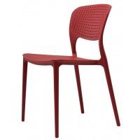 Пластиковый стул Spark red (Спарк красный кармин)