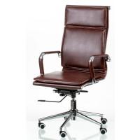 Офисное кресло для руководителя Solano 4 artleather brown (Солано 4 арткожа черное)