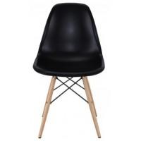 Барный стул Tower wood black (Тауэр вуд черный)