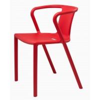 Пластиковый стул Space red (Спейс красный)