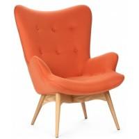 Кресло для дома Флорино оранжевое